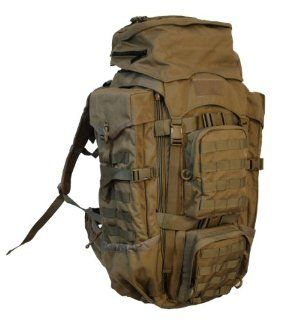 Eberlestock F4 Terminator Pack w/Removable Fanny Top, Dry Earth F4ME  Internal Frame Backpacks  Sports & Outdoors