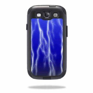 MightySkins Protective Vinyl Skin Decal Cover for OtterBox Commuter Samsung Galaxy S III S3 Case Sticker Skins Lightning Storm Cell Phones & Accessories