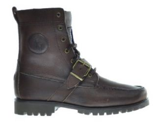 Polo Ralph Lauren Ranger Men's Boots Mahogony/Royal 812190483n54 (8 D(M) US) Shoes