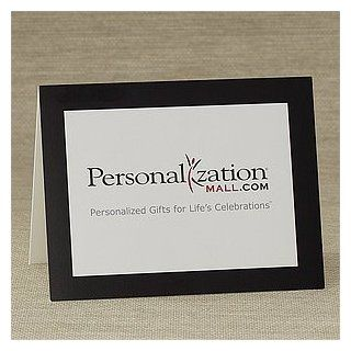 Personalized Business Note Cards   Horizontal Company Logo  Blank Note Card Sets