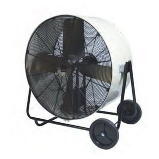 TPI 36 Inch Industrial Portable Blower Belt Drive Swivel Model fan 3 Phase