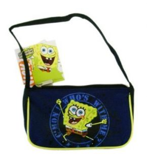 Spongebob Squarepants Purse Handbag   Kids Mini Purse with Strap Clothing