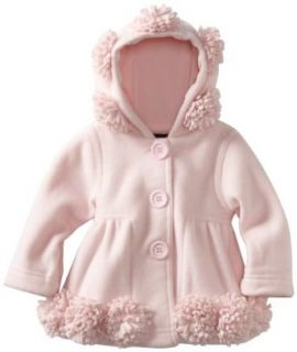 Kate Mack Baby Girls Infant Hooded Jacket, Pink, 12 Months Infant And Toddler Outerwear Jackets Clothing
