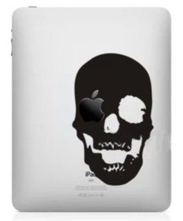 Big Dragonfly Stylish Creative Logo Vinyl Decal Sticker for Apple iPad mini Scary Black Skull Computers & Accessories