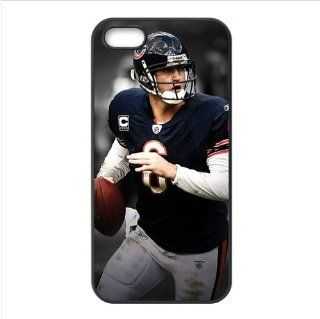 NFL Chicago Bears Jay Cutler Accessories Apple Iphone 5 Waterproof TPU Back Cases Cell Phones & Accessories