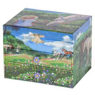 Annie Girls Musical Horse Jewelry Box