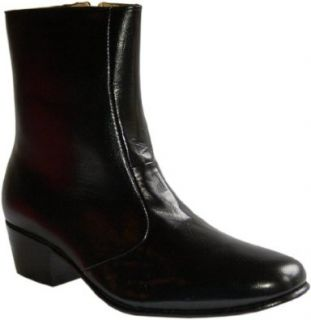 Black Leather Boots for Men Shoes