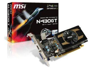 MSI nVidia GeForce GT430 OC 1 GB DDR3 VGA/DVI/HDMI PCI Express Video Card N430GT MD1GD3/OC Electronics