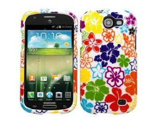 Hawaii Flowers Protector Case for Samsung Galaxy Express SGH i437 Cell Phones & Accessories