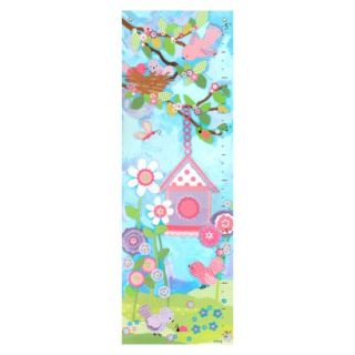 Oopsy Daisy too Aqua Flower Growth Chart    13x39