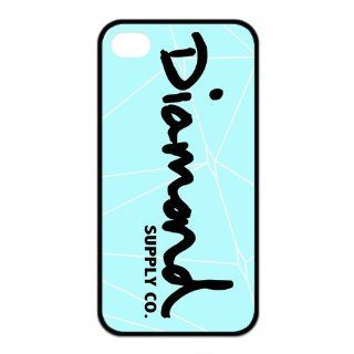 Happinessexplorer Diamond Supply Co DMND Logo Best Durable Silicone iPhone 4/4S Case Cell Phones & Accessories