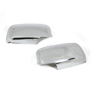 Triple Chrome Side Door Mirror Cover Trims Moulding for 04 07 Suzuki Swift US Model 2004 2005 2006 2007 Brand NEW On Sale with 3m Adhesive Tape Automotive