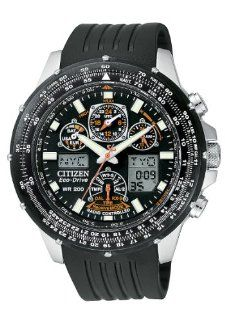 Citizen Quartz Eco Drive Skyhawk A T Black Dial Men's Watch CZ JY0000 02E Citizen Watches