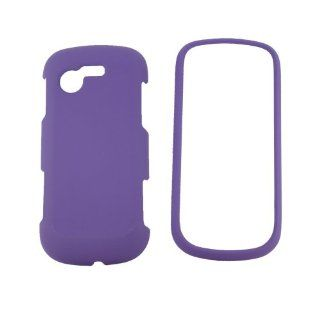 Samsung SGH A667 Evergreen Purple Snap On Case Cell Phones & Accessories