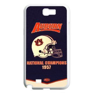 NCAA Auburn Tigers Champions Banner Cases Cover for Samsung Galaxy Note 2 N7100 Cell Phones & Accessories