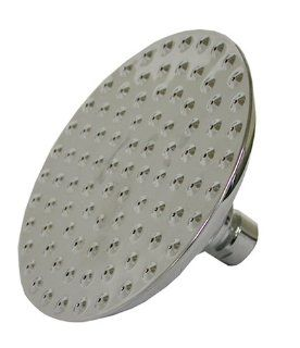 Plumbest S01 088 5 Inch Rain Style Round Shower Head with Dimples, Chrome   Fixed Showerheads