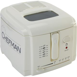 Chefman Pro Style Deep Fryer — 2-Qt. Capacity, Model# RJ08  Fryers, Roasters   Accessories