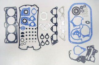 90 92 Mitsubishi Eclipse Turbo 4G61 2.0L 1595cc/4G63 2.0L 1997cc L4 16V DOHC Engine Full Gasket Replacement Kit Set (FelPro HS9627PT, CS9086) Automotive