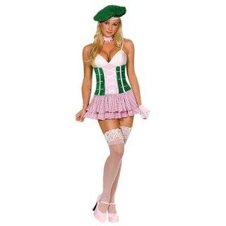 Sugar Caddy Sexy Women's Costume Adult Halloween Outfit   Size M, Dress Size 6 10 Clothing