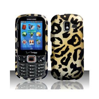 Yellow Cheetah Hard Cover Case for Samsung Intensity III 3 SCH U485 Cell Phones & Accessories