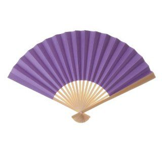 Koyal Wholesale Decorative Paper Fans, Purple, Set of 100   Decorative Vases