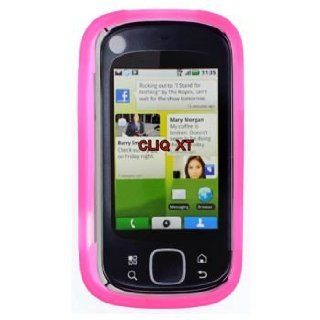 Motorola CLIQ XT/Quench MB501 Trans. Hot Pink Silicon Skin Case Cell Phones & Accessories
