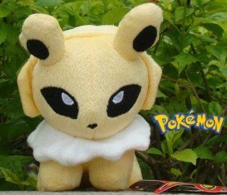 "New Jolteon 5"" Pokemon Plush Eevee Series Cute Soft Stuffed Animal Toys & Games"
