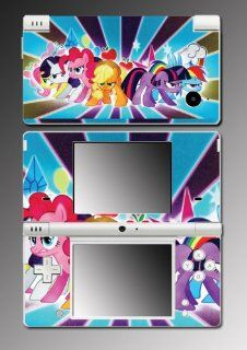 My Little Pony Friendship is Magic MLP Fight Cartoon Movie Video Game Vinyl Decal Cover Mod Skin Protector for Nintendo DSi Console System Video Games