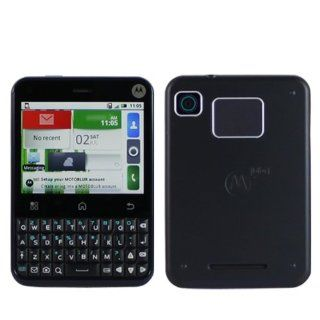 Motorola MB502 Unlocked Android Phone with WI FI, 3MP Camera, QWERTY Keyboard and GPS   US Warranty   Dark Saphire Cell Phones & Accessories