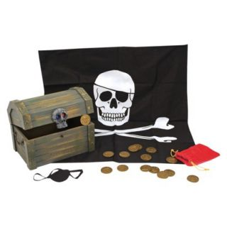 Melissa & Doug® Deluxe Wooden Pirate Treasur