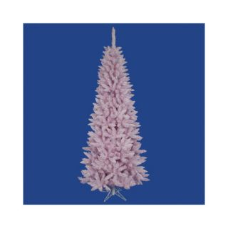 Vickerman Co. Flocked Pink Spruce 54 Artificial Christmas Tree Christmas Decor