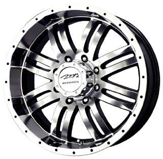 "MB Wheels V Drive Black Wheel with Machined Face (17x8.5""/5x135mm) Automotive"