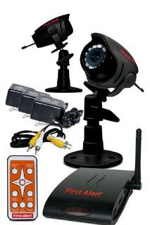 First Alert 532 2 Pack Wireless Color Security Camera and Receiver