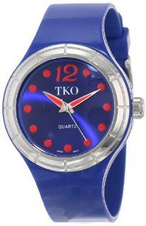 TKO ORLOGI Women's TK531 NV Candy Collection Fun Colorful Rubber Watch Watches