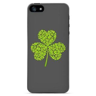 [Geeks Designer Line] Clover Burst Apple iPhone 5 Plastic Case Cover [Anti Slip] Supports Premium High Definition Anti Scratch Screen Protector; Durable Fashion Snap on Hard Case; Coolest Ultra Slim Case Cover for iPhone 5 Supports Apple 5 Devices From Ver