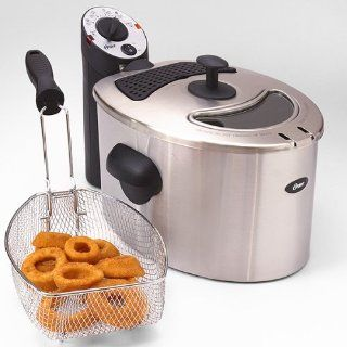 Oster 0DF540 Classic Stainless Steel Immersion Deep Fryer Kitchen & Dining
