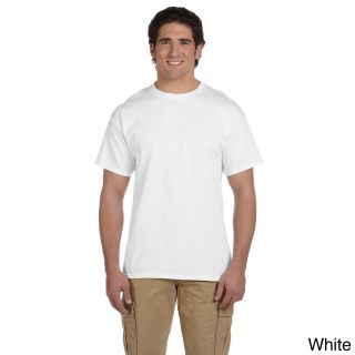 Gildan Gildan Mens Ultra Cotton Tall Short Sleeve T shirt White Size XXL