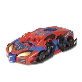 Amazing Spider Man Remote Control Transforming Racer Toys & Games