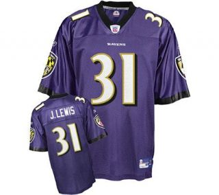NFL Baltimore Ravens Jamal Lewis Replica Team Color Jersey —