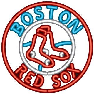 MLB Boston Red Sox Neon Sign Sports & Outdoors