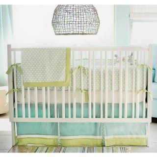 New Arrivals Sprout 3 Piece Crib Bedding Set, Green  Bedding Set Baby Boy  Baby