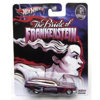 '59 CADILLAC FUNNY CAR * THE BRIDE OF FRANKENSTEIN / UNIVERSAL STUDIOS MONSTERS * Hot Wheels 2013 Pop Culture Series 164 Scale Die Cast Vehicle Toys & Games