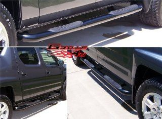 06 11 Honda Ridgeline Black Side Step Nerf Bars Running Boards Automotive
