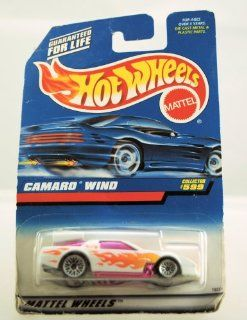 Hot Wheels   1997   Camaro Wind   Collector #599   Die Cast   Limited Edition   Collectible Toys & Games