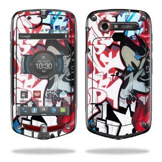 MightySkins Protective Vinyl Skin Decal Cover for Casio G'zOne Commando 4G LTE C811 GZ1 Verizon Cell Phone Sticker Skins Graffiti Mash Up Electronics