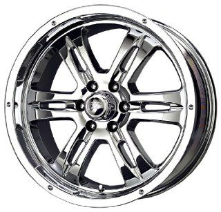 "MB Wheels Gunner 6 Chrome Wheel (20x8.5""/6x139.7mm) Automotive"