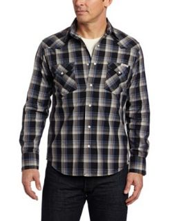 Lucky Brand Mens Men's Mendocino Plaid Shirt, Black Plaid, Large at  Men�s Clothing store