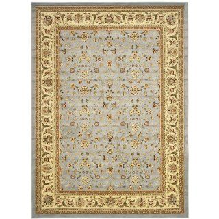 Lyndhurst LNH312B Light Blue / Ivory 2'3''X20' Runner Area Rug