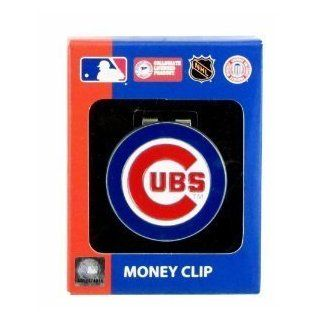 Chicago Cubs MLB Team Logo Money Clip  Sports Fan Wallets  Sports & Outdoors