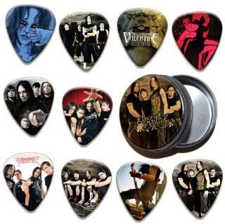 Bullet For My Valentine 10 X Guitar Picks & Tin ( Limited To 100 ) Musical Instruments